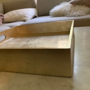 West Elm Accents - *NWT* West Elm Lacquer Wood Tray